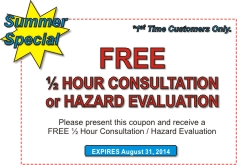 Summer Special Hazard Evaluation